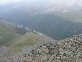 вид на р. Аккем с перевала Каратюрек