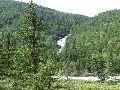 водопады на р. Тегеек