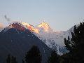 восточная вершина Белухи на закате