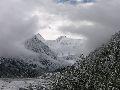 г. Белуха в снежный августовский день