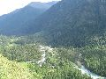 Кучерлинское ущелье. Вид сверху