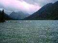 Мультинские озера. Оз. Среднемультинское в ветренную погоду