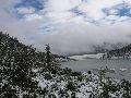 оз. Аккем под снегом в середине августа