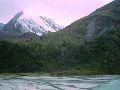 Оз. Аккем. Вид на подъем в долину семи озер