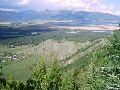 Верхний Уймон. Вид на восточную гряду и долину