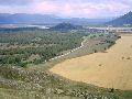 Верхний Уймон. Вид на д. Тихонькая с восточной гряды