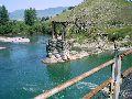 р. Катунь. Вид с мультинского навесного моста
