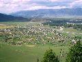 Верхний Уймон. Вид на село и долину с восточной гряды