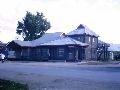 Усть-Кокса. Магазины вдоль центральной улицы. 1