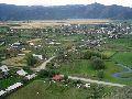 Верхний Уймон. Вид на село с восточной гряды. 2 часть панорамы