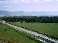 Верхний Уймон. Вид с западной возвышенности. 3 часть панорамы