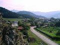 Верхний Уймон. Вид со скал восточной гряды. 4 часть панорамы