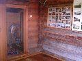 Верхний Уймон. Музей Рериха СибРО. 1 этаж. Вид при входе со двора