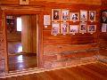 Верхний Уймон. Музей Рериха СибРО. 2 этаж. Вид комнаты которую занимал Ю.Н. Рерих с Лихтманами