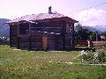 Верхний Уймон. Музей Рериха СибРО. Вид на здание музея со двора
