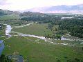 Верхний Уймон. Панорама села с восточной гряды. 1 часть