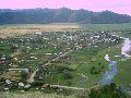 Верхний Уймон. Панорама села с восточной гряды. 2 часть