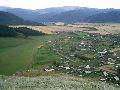 Верхний Уймон. Панорама села с восточной гряды. 3 часть