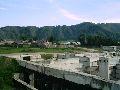 Верхний Уймон. Фундамент недостроенной школы