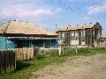 Верхний Уймон. Центральная площадь. Вид на колхозный магазин