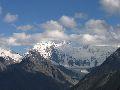 вид на Белуху с перевала Каратюрек
